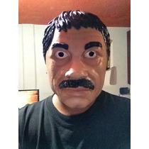 Mascara Halloween , Chapo Guzmán , Disfraz, Original