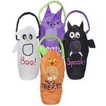 4 Gran 23x9 Truco O Invitación De Halloween Bolsas Para Niño