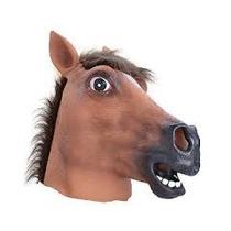 Disfraz Caballo Adultas - Marrón Máscara Animal Rubber Ove