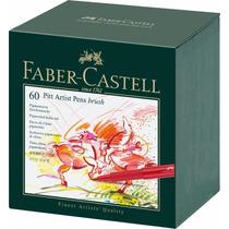 Faber Castell India Ink Pitt 60/ct Artist Brush Pen Studio B