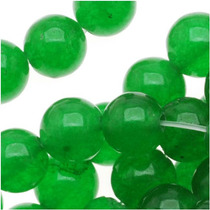 Cuentas Redondas 6mm Jade Dulce Verde / Hilo 39cm