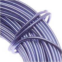 Alambre De Aluminio Lila Púrpura Calibre 12 (11.8 Metros