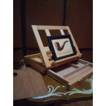 El Mejor Maletin De Arte, Portafolio, Caballete, Pintura
