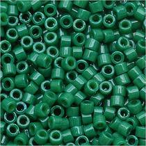 Miyuki Cuentas Delica 11/0 Verde Jade Opaco Teñido