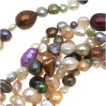 Diversas Perlas Pepitas Refinadas Multi Formas Y Colores