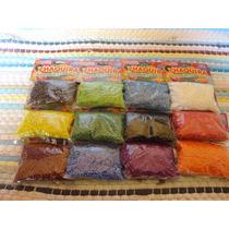 Paquete De Chaquira Doce Colores 11/0