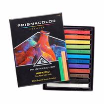 Prismacolor Nupastel Colored Pastel Sticks, Set Of 12 Assort