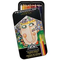 Prismacolor Premier 24 Piezas, Caja De Metal!