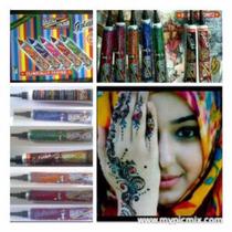 Henna Golecha De Colores, Tatuajes Temporales100% Orgánica!!