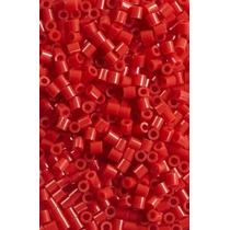 Craft Cuentas - Perler 1000 Pieza Pack De Hierro Rojo Arte D
