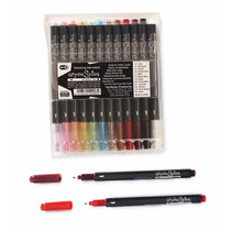 Copic 12 Plumas Gel Glitter Ilustracion Manga Rotulo Set B