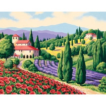 Pintura Por Números - Paintsworks Escena Toscana Aprende
