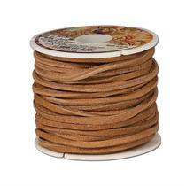 Lace - Latigo 1 8-inch (0,3 Cm) X 50 Pies Tan Cordón De Cue