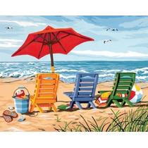 Pintura Set - Paintsworks Pintura Por Números Silla De Playa