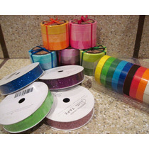 Washi Tape Cinta Lote Varios Colores Glitter Scrapbook