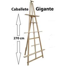 Caballete Gigante, Exposiciones, Bastidores De Mas De 250cm