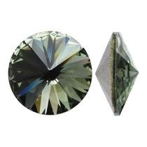 Piedras De Fantasía Cristal Swarovski Rivoli Diamante Negro