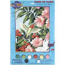 Pintura Set - Paintsworks Aprender A Pintar Colibríes Y