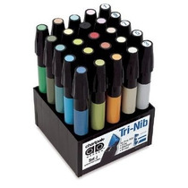 Marcadores Chartpak Ad Arquitectura Set 25 Colores Pm0