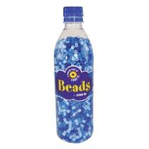 Craft Cuentas - Playbox En Una Botella Azul Mix 3500 Piezas