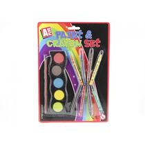 Paint Set - Y Crayon Kids Pintura Coloración Papelería