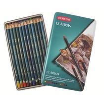 Colores Profesionales 12 Pzs Derwent Artists 40% De Dto.