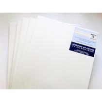 5 Lienzos Para Pintura Al Oleo Y Acrílica De 27.9cm X 35.5cm