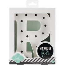 Marquee Letter R Letra Q De Marquesina Para Decorar