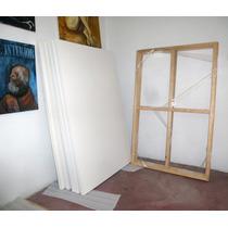 Lienzo Con Bastidor Para Pintura Artística 80x120cm