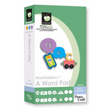 Cartucho Cricut - Word Builders 1® A Word Party Cartridge
