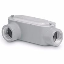 Condulet Coneccion Tipo Lr 1 Pulgada Con Tapa Voltech 46975