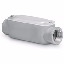Condulet Coneccion Tipo C 3/4 Pulgada Con Tapa Voltech 46983