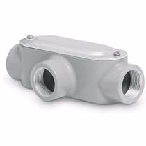 Condulet Coneccion Tipo T 3/4 Pulgada Con Tapa Voltech 46980