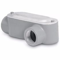 Condulet Coneccion Tipo Ll 1 Pulgada Con Tapa Voltech 46978