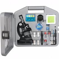 Kit De Estudiante, Microscopio Biológico, 300x-600x-1200x