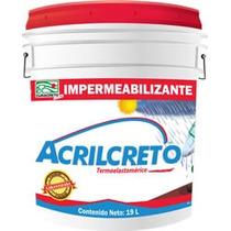 Impermeabilizante Acrilico Terracota 3 Años Curacreto