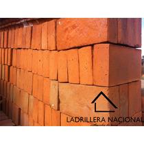 Pieza Ladrillo Tabique Rojo Mochetón 10x20x40cm Aparente