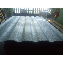 Lamina Acanalada Termo Acustica De Polialuminio