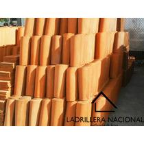 Millar Teja Rústica De Barro Tipo Media Caña De 30cm