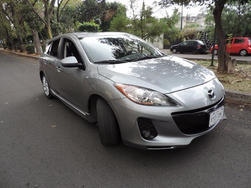 Mazda 3 Hatchback Sport R17 2012 Automatico Piel Oportunidad
