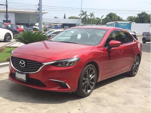 Mazda 6 I Grand Touring Plus 2016 Rojo 4 Cilindros 2.5lt