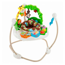 Fisher Price Jumperoo Musical Y Actividades Go Wild.