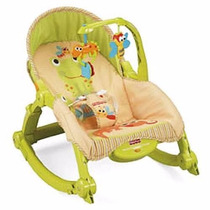 Nueva Silla Y Mecedora Vibradora Bouncer De Fisher Price