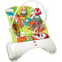 Sillita Mecedora Bebe Bouncer Fisher-price Woodland Friends