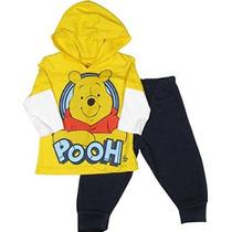 Disney Winnie The Pooh Para Bebé Niños De 2 Piezas. (tamaño
