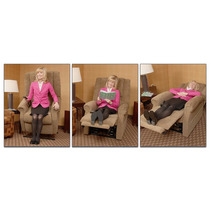 Sofa Reclinable Y Elevacion Sillon Tipo Mecedora Lo + Nuevo!