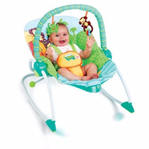 Sillita Mecedora Bebe Bouncer Bright Starts Peek-a-zoo