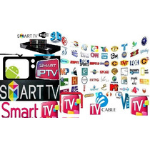Iptv Canales De Cable Hd Y Sd Por Internet En Tu Smart Tv