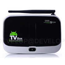 Tv Box Android 4k Incluye Video Camara Y Control Remoto