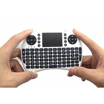 Mini Teclado Qwerty + Touch Pad Inalmabrico Para Smart Tv